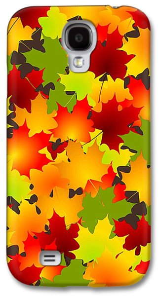 Fall Leaves Quilt Galaxy S4 Case