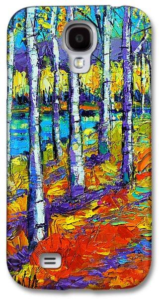 Fall Mood Galaxy S4 Case by Mona Edulesco