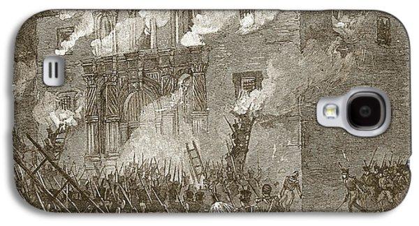 Fall Of The Alamo Galaxy S4 Case