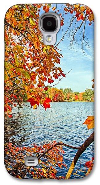 Fall On Lake Opechee Galaxy S4 Case