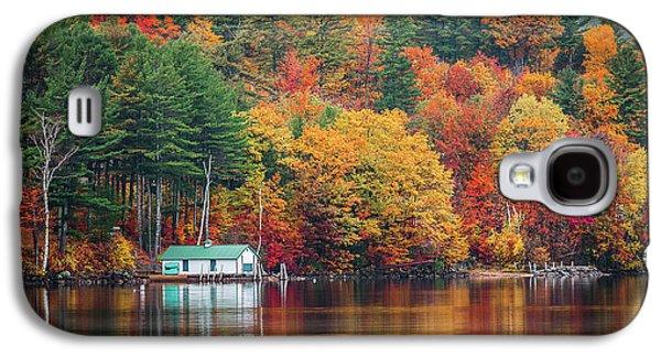 Fall On Lake Winnipesaukee Galaxy S4 Case