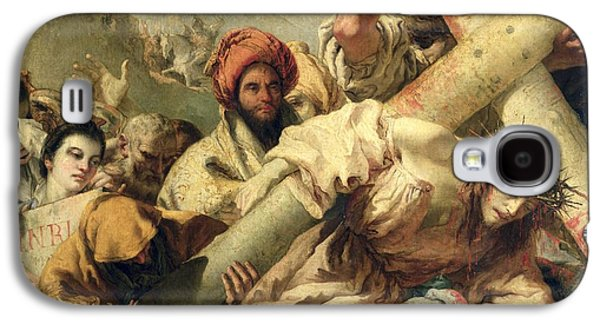 Fall On The Way To Calvary Galaxy S4 Case by G Tiepolo