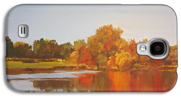 Fall Perfection Galaxy S4 Case by Elizabeth Carr
