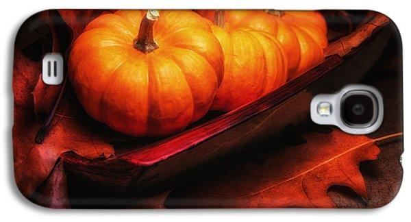 Fall Pumpkins Still Life Galaxy S4 Case by Tom Mc Nemar