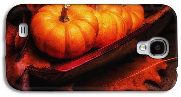 Pumpkin Galaxy S4 Case - Fall Pumpkins Still Life by Tom Mc Nemar