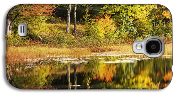 Fall Reflection Galaxy S4 Case by Chad Dutson