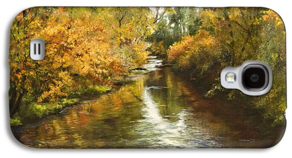 Fall Reflections Galaxy S4 Case by Jan Hardenburger