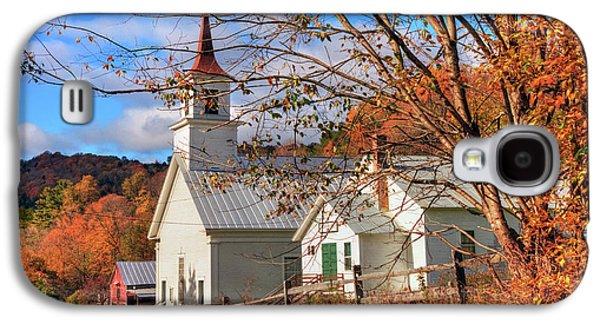 Fall Scene - North Tunbridge Vermont Galaxy S4 Case
