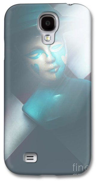 Fallen Blue King Of The Grand Chessboard Galaxy S4 Case by Jorgo Photography - Wall Art Gallery