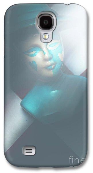 Fallen Blue King Of The Grand Chessboard Galaxy S4 Case