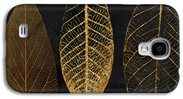 Fallen Gold II Autumn Leaves Galaxy S4 Case by Mindy Sommers