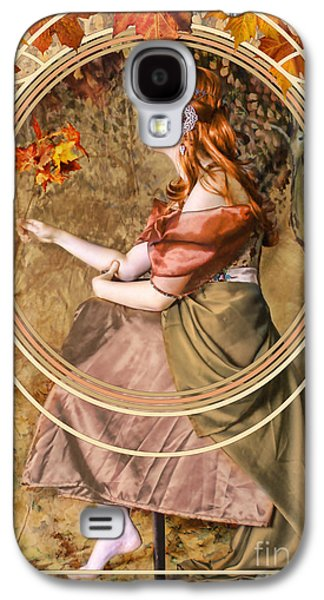 Falling Leaves Galaxy S4 Case by John Edwards