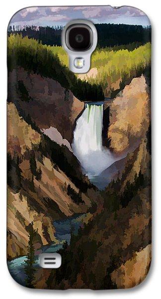 Falling Yellowstone  Iv Galaxy S4 Case