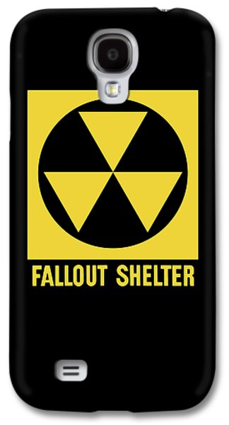 Fallout Shelter Sign Galaxy S4 Case