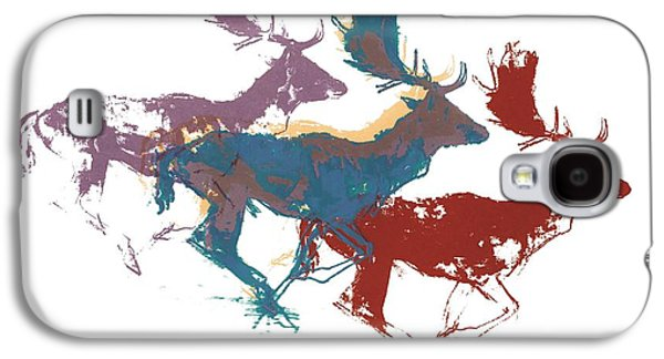 Fallow Bucks Galaxy S4 Case by Mark Adlington