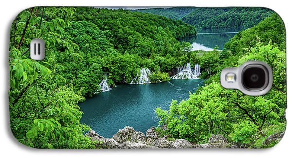 Falls From Above - Plitvice Lakes National Park, Croatia Galaxy S4 Case