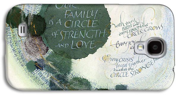 Family Circle Galaxy S4 Case by Judy Dodds