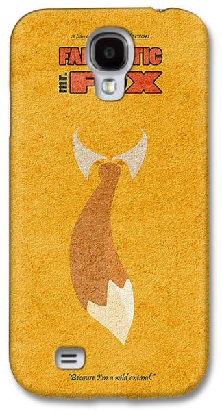Fantastic Mr. Fox Galaxy S4 Case by Ayse Deniz