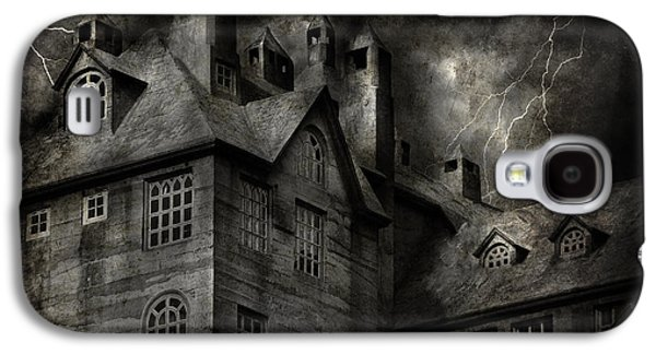 """""""haunted House"""" Galaxy S4 Cases - Fantasy - Haunted - It was a dark and stormy night Galaxy S4 Case by Mike Savad"""