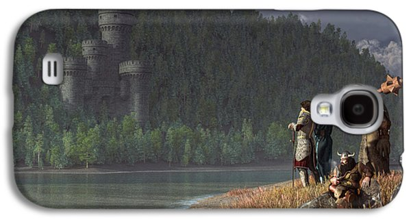 Fantasy Quest Galaxy S4 Case by Daniel Eskridge