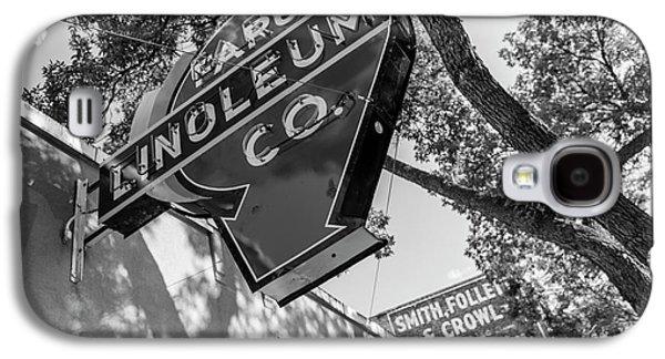 Fargo Linoleum Company Galaxy S4 Case by John McGraw
