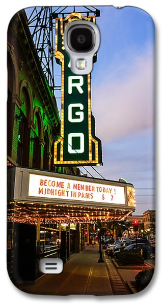Fargo Theater And Downtown Along Broadway Drive Galaxy S4 Case by Paul Velgos