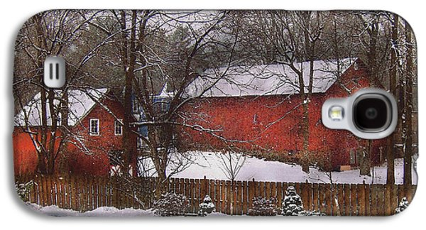 Farm - Barn - Winter In The Country  Galaxy S4 Case