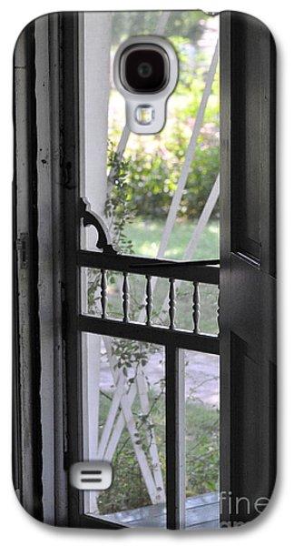 Farm House Screen Door Galaxy S4 Case by Wilma  Birdwell