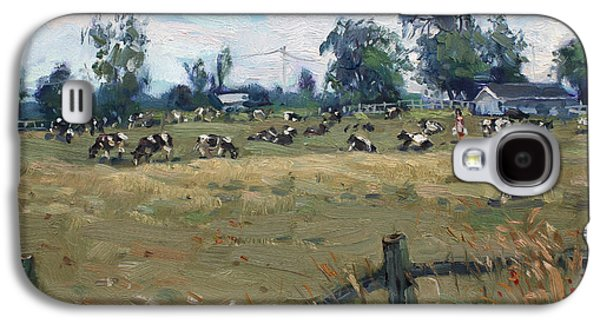 Farm In Terra Cotta On Galaxy S4 Case