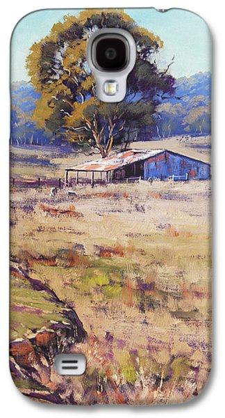 Rural Scenes Galaxy S4 Case - Farm Shed Pyramul by Graham Gercken