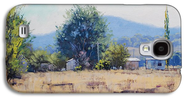 Farm Sheds At Trmut Galaxy S4 Case by Graham Gercken