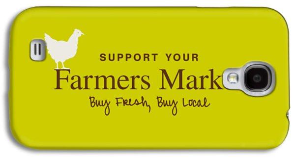 Farmers Market Galaxy S4 Case by Nancy Ingersoll