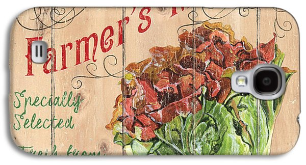 Farmer's Market Sign Galaxy S4 Case by Debbie DeWitt