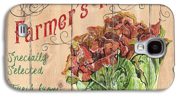 Lettuce Galaxy S4 Case - Farmer's Market Sign by Debbie DeWitt