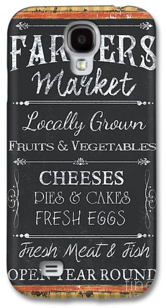 Farmer's Market Signs Galaxy S4 Case by Debbie DeWitt