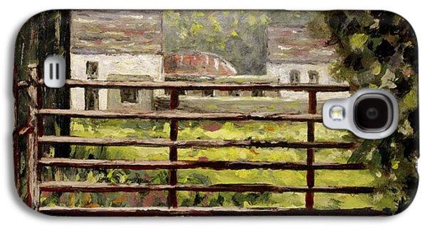 Farmyard Gate Galaxy S4 Case