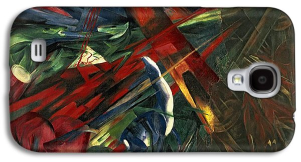 Fate Of The Animals Galaxy S4 Case by Franz Marc