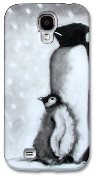 Father And Son Galaxy S4 Case by Paul Powis