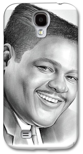 Drum Galaxy S4 Case - Fats Domino by Greg Joens