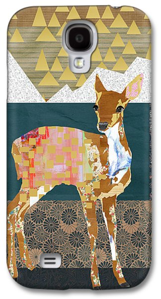 Fawn Collage Galaxy S4 Case