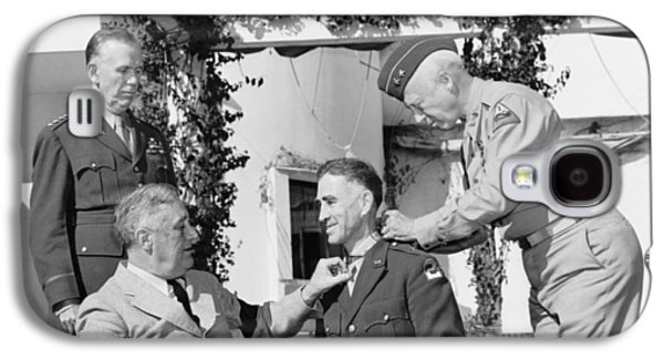 Fdr Presenting Medal Of Honor To William Wilbur Galaxy S4 Case