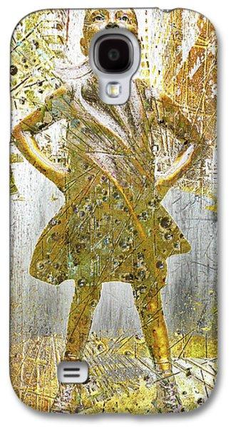 Fearless Girl By Kristen Visbal Galaxy S4 Case
