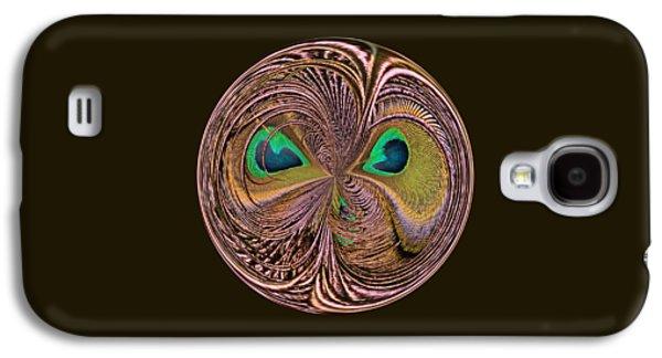 Feather Eyes Orb Galaxy S4 Case by Marv Vandehey