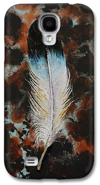 Feather Galaxy S4 Case by Michael Creese