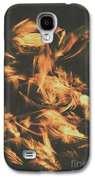 Feathers And Darkness Galaxy S4 Case by Jorgo Photography - Wall Art Gallery
