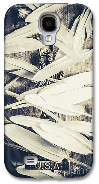 Feathers Of Freedom And The Statue Of Liberty Galaxy S4 Case by Jorgo Photography - Wall Art Gallery