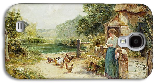 Feeding Time Galaxy S4 Case by Ernest Walbourn