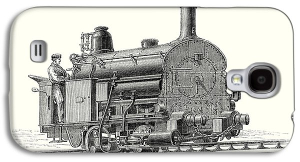 Fell's Locomotive For The Rail Central Railway Galaxy S4 Case