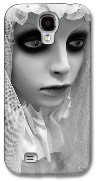 Female Ghost Halloween Print -  Dearly Departed Ghostly Female Soul - My Beloved Galaxy S4 Case by Kathy Fornal