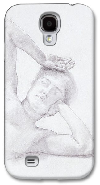 Female Head And Torso Galaxy S4 Case by Sir Lawrence Alma-Tadema